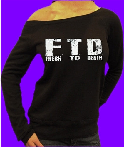 FTD Fresh To Death Off The Shoulder