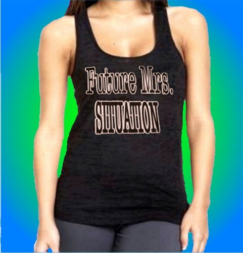 Future Mrs. Situation Burnout Tank Top Women's