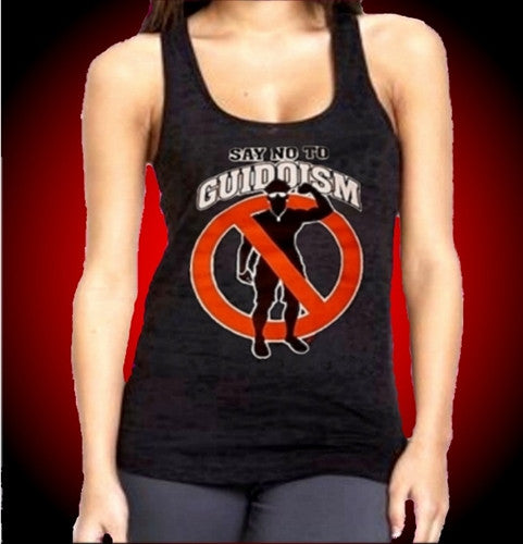 Say No To Guidoism Burnout Tank Top Women's