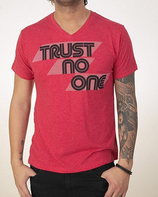 Pauly D Trust No One T-Shirt Red