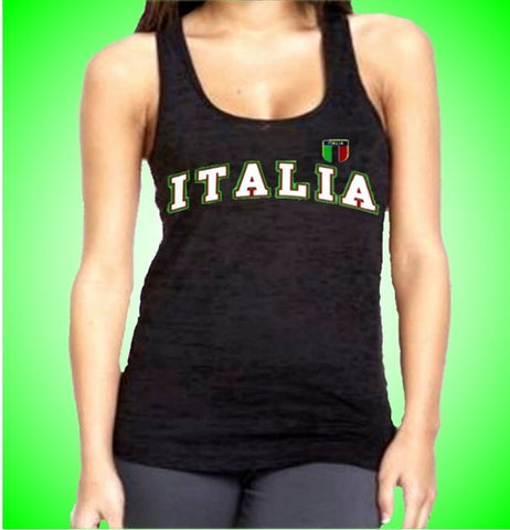 Italia Burnout Tank Top Women's