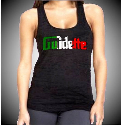 Italian Burnout Tank Top Womens