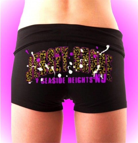 Jersey Shore Leopard Arch Shorts