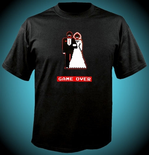 Game Over Couple T-Shirt