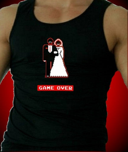 Game Over Couple Tank Top Men's