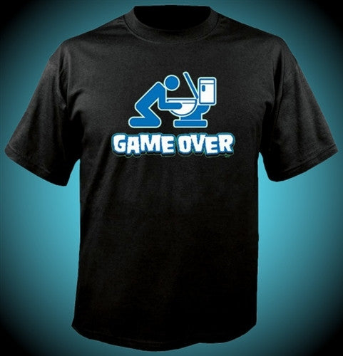 Game Over Toilet T-Shirt