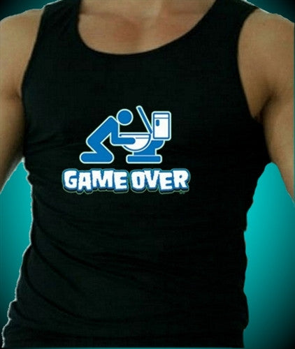 Game Over Toilet Tank Top Men's