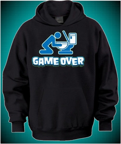 Game Over Toilet Hoodie