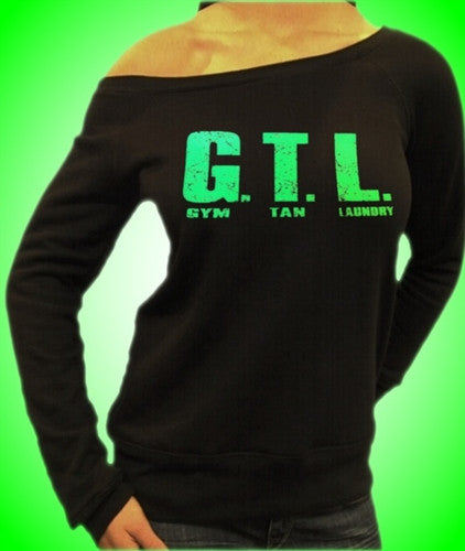 Green GTL Gym Tan Laundry