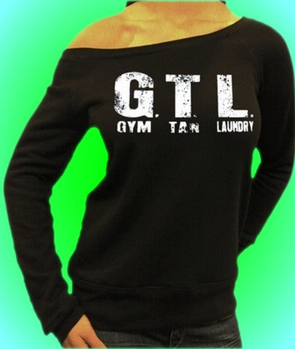 GTL White Gym Tanning Laundry Off The Shoulder