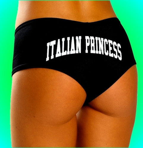 Italian Princess White Booty Shorts