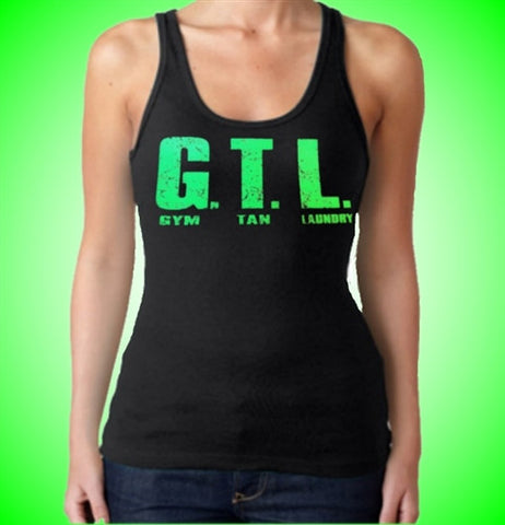 Green GTL Tank Top Womens