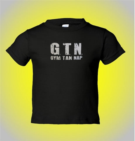Jersey Shore GTN Gym Tan Nap KidsT-Shirt