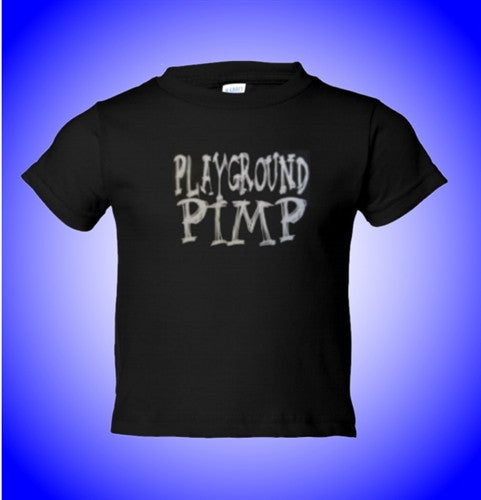 Jersey Shore Playground Pimp Kids T-Shirt