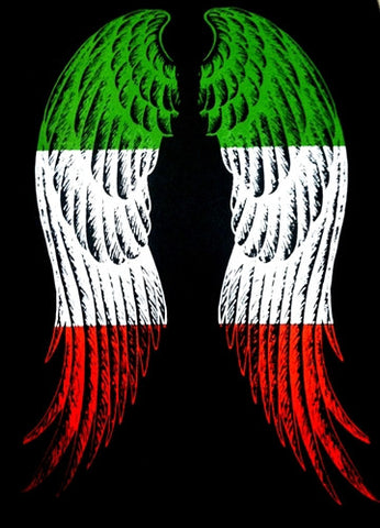 Italian Wings Hoodie (WINGS ON BACK OF HOODIE)