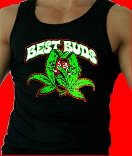 Best Buds Tank Top Mens