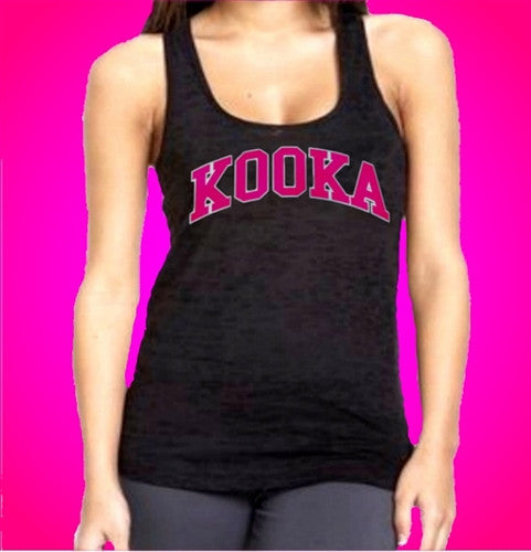 KOOKA Burnout Tank Top Womens