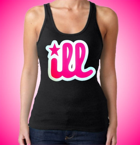 iLL Pink Tank Top Womens