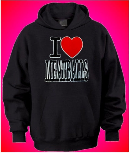 I Heart Meatballs Hoodies
