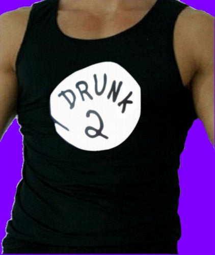 Drunk 2 Tank Top Mens