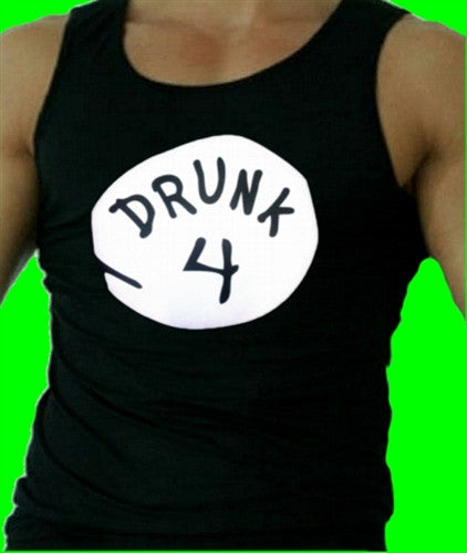Drunk 4 Tank Top Mens