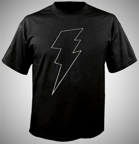 Thunder Bolt White T-Shirt