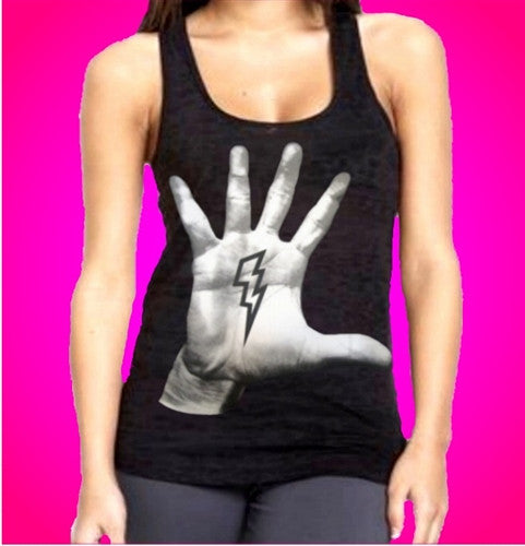 Thunder Clap Burnout Tank Top Womens