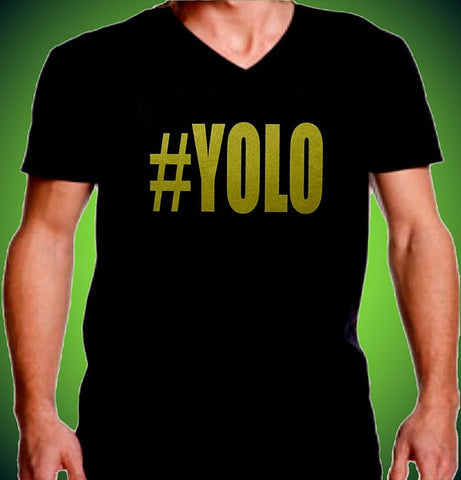 #YOLO You Only Live Once V-Neck