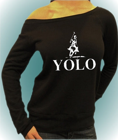 #YOLO Off The Shoulder Top