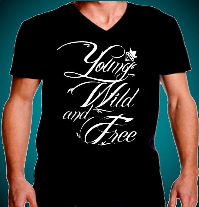 Young Wild And Free V-Neck
