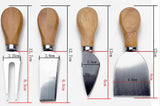 4-Piece Cheese Knife Set