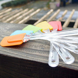 Food Grade Silicone Universal Spatula - Multiple Colors Randomly Selected!