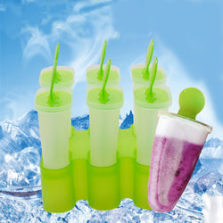 6-Piece Popsicle Molds!
