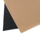 2 Teflon Reusable Non-Stick BBQ Mats For Your Grill - 1 Black And 1 Khaki