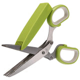 Kitchen Shredder Scissors - Five Blades Will Cut Through Anything!
