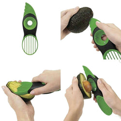 3-In-1 Safe Avocado Slicer