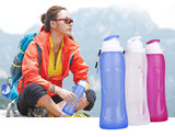 Ready To Go Water Bottle - Collapses For Easy Storage!