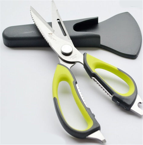Stainless Steel Kitchen Shears with Magnetic Holder