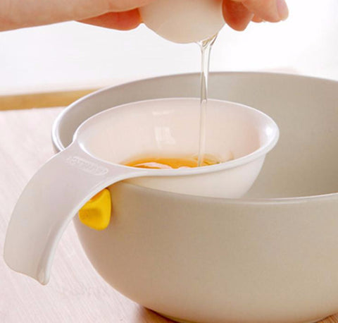Easy Yolk Separator With Silicone Holder