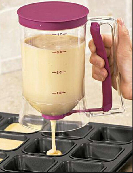 Precision Batter Dispenser - The Perfect Amount Every Time!