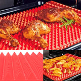 Red Pyramid Silicone Baking Mat