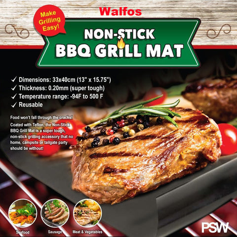 Extra Thick Teflon BBQ Mat - Multiple Choices