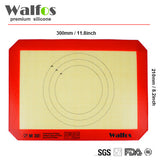 Non-Stick Silicone Cooking Mat - Multiple Style & Size Options - Compare to Silpat