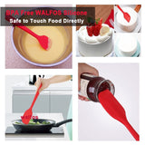 Food Grade Silicone Spatulas & Brush - Multiple Colors & Models