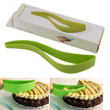 Super Easy Pie and Cake Slicer, Grab A Slice & Put It On A Plate