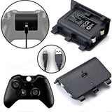 2400mah Rechargeable Battery Pack & Cable For Xbox One Play Charge Kit
