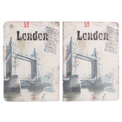 London Tower Bridge Leather Case For iPad Mini