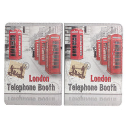 London Telephone Booth Leather Case For iPad Mini