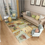 2017 New Fashion American Village Carpet Pastoral Retro Nordic Large Delicate For Living Room Bedroom Kinds Of Patterns Rug Mat
