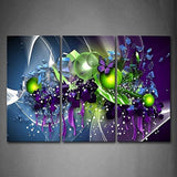 3 Pieces Picture Painting Wall Art Room Decor Print Poster colorful posters Wall Pictures for Living Room Canvas Painting Framed